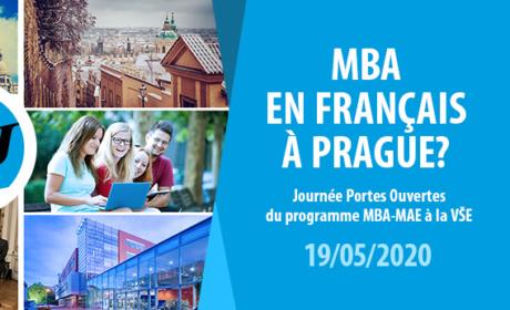 9. června od 17,00 zveme zájemce o program MBA na Den otevřených dveří. Bude se konat prezenčně i virtuálně