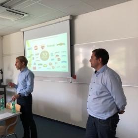Přednáška top manažerů společnosti Bel Sýry v modulu Strategický marketing