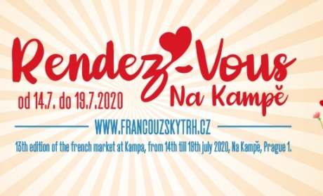Francouzský trh na Kampě se koná od 14. do 19. července
