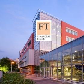 """V žebříčku Financial Times """"European Business Schools Ranking 2020"""" se VŠE umístila na 50. místě"""